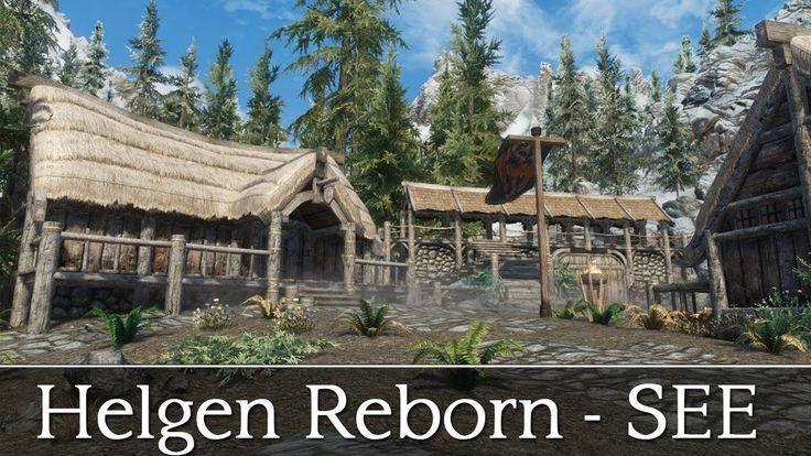 Skyrim Special Edition Quests and Adventures Mods - Helgen Reborn SE (Mo...