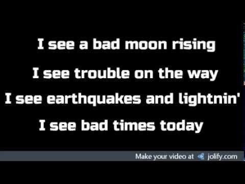 Mourning Ritual - Bad Moon Rising w/lyrics - Teen Wolf: The Divine Move