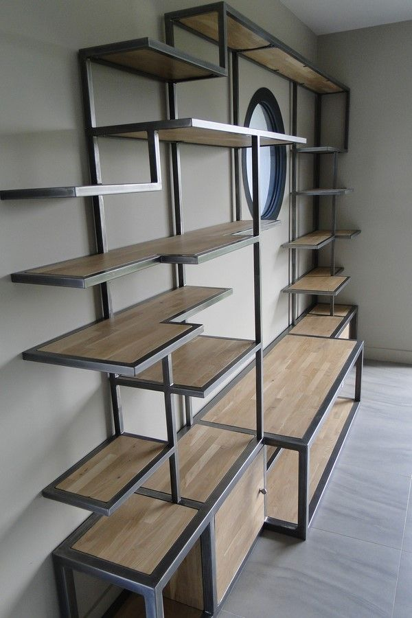les 25 meilleures id es de la cat gorie bibliotheque metal sur pinterest rayonnage m tallique. Black Bedroom Furniture Sets. Home Design Ideas