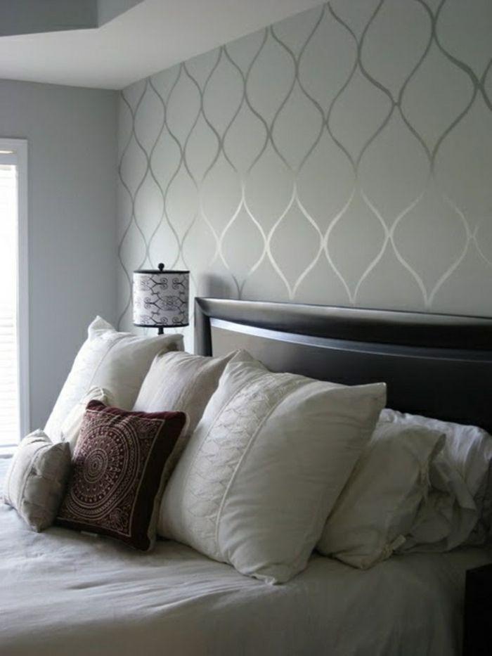 Tapete Schlafzimmer Ideen In 2020 Tapete Grau Tapete