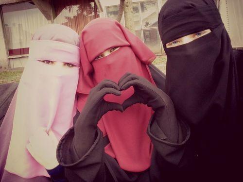 Beautiful Niqab -- Muslim