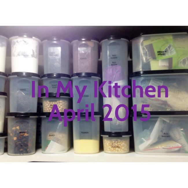 In My Kitchen April 2015 « Mother Hubbard's Cupboard