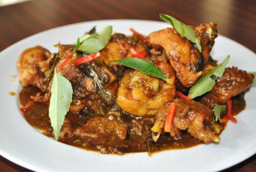 kam heong chicken Chinese Malaysian Cuisine