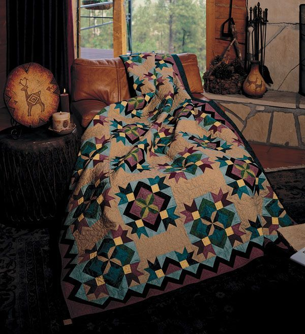 Blooming Desert | Quilts - Native American Patterns | Pinterest