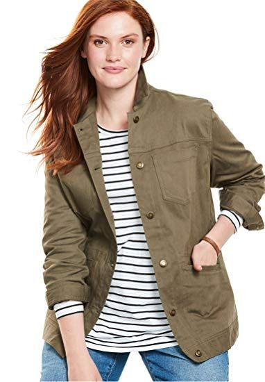 5799c86a40e New Woman Within Plus Size Denim Jacket online.   33.19  20 offers on top  store