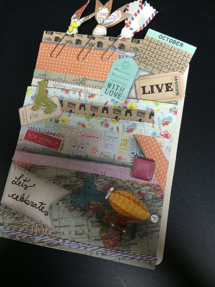 Tarjetas especiales · special card · scrapbook card