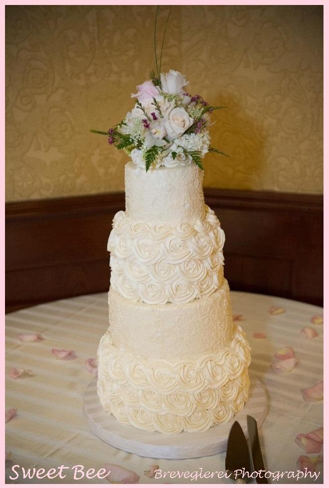 Michels Patisserie Rosette Cake