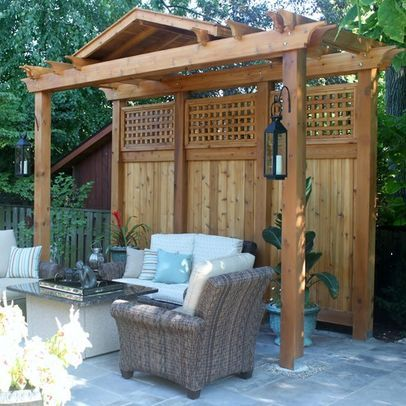 privacy landscaping ideas screens - Google Search---at the trailer corner area with all the kids