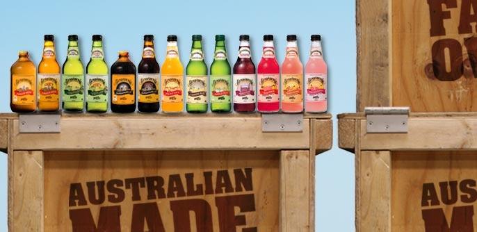 "Bundaberg Brewed Drinks (sadly they no longer produce ""Mint Freeze"")"