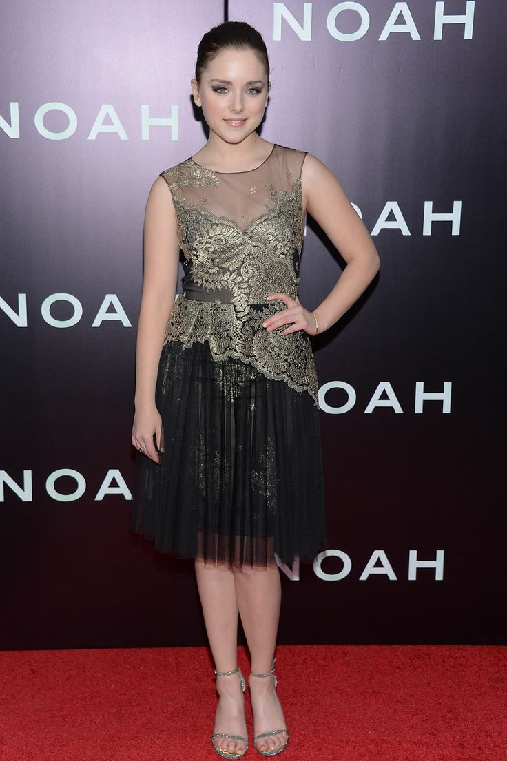Celebrity| Serafini Amelia| 'Noah' NYC Premiere: Russell Crowe, Jennifer Connelly Dominate the Red Carpet-Madison Davenport plays Na'el in Noah