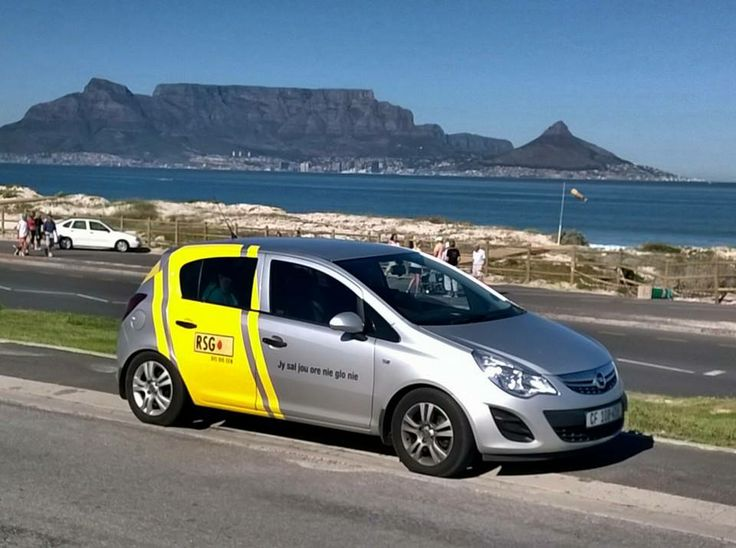 RSG out and about in Cape Town...