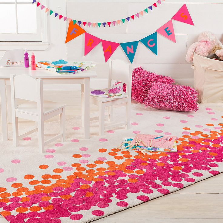 Found It At Allmodern Aail Hot Pink Carnation Area Rug
