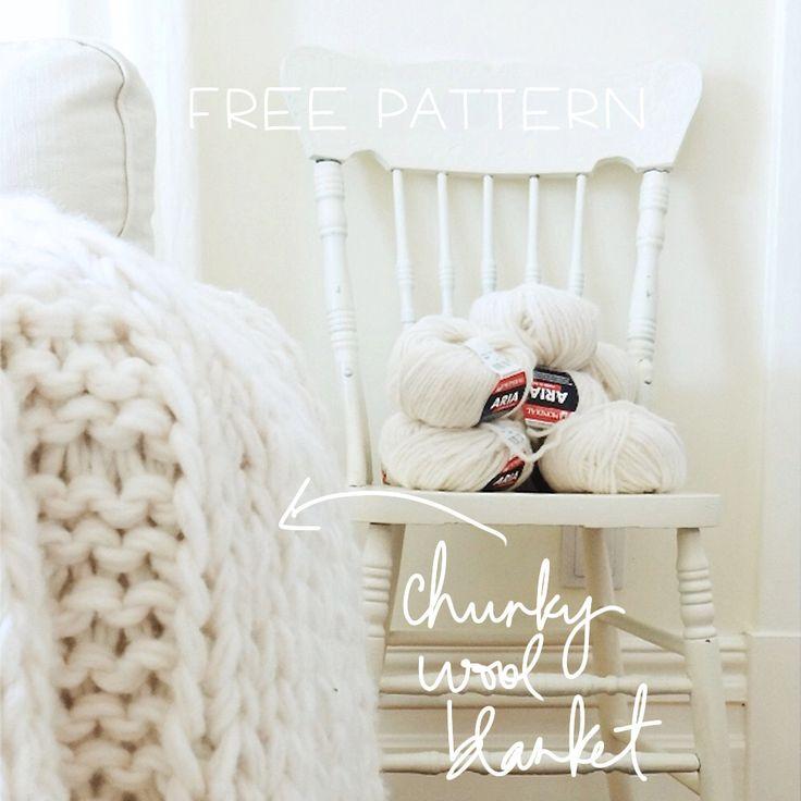 How to make a chunky wool blanket