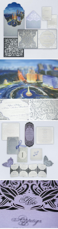 Die besten 25 Silver wedding invitation suites Ideen auf