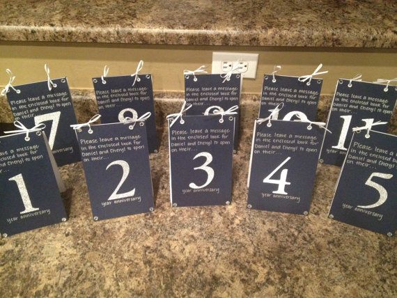 20 creative guest book ideas for your wedding table number guestbook