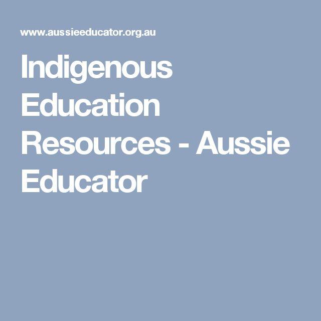 Indigenous Education Resources - Aussie Educator