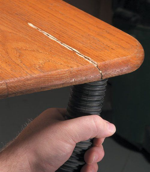 Vacuum Glue into a Crack - Woodworking Shop - American Woodworker