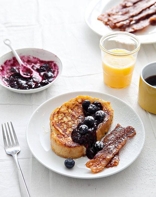 Stacy Newgent's French Toast and Bacon Recipe #breakfast #recipe #frenchtoast