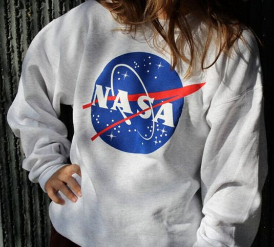 "Unisex NASA Sweater Hoodie Long Sleeve Sweatshirt "" FREE SHIPPING """