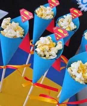 Decoración de Fiestas Superman desde http://fiestasinfantilesdecora.blogspot.mx/2014/07/decoracion-de-fiestas-superman.html
