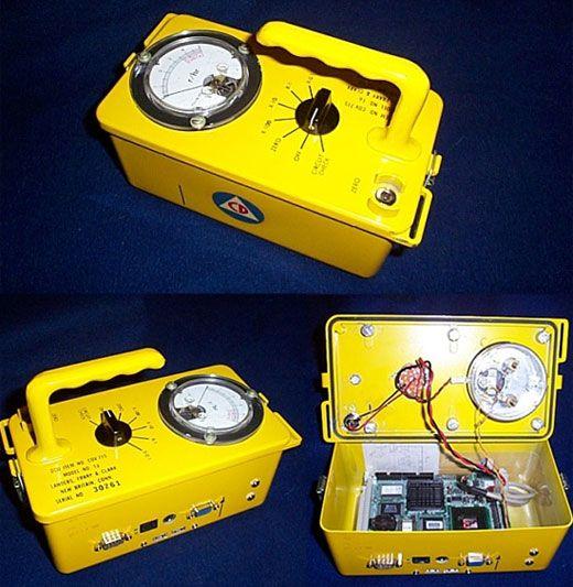 Geiger Counter Case Mod