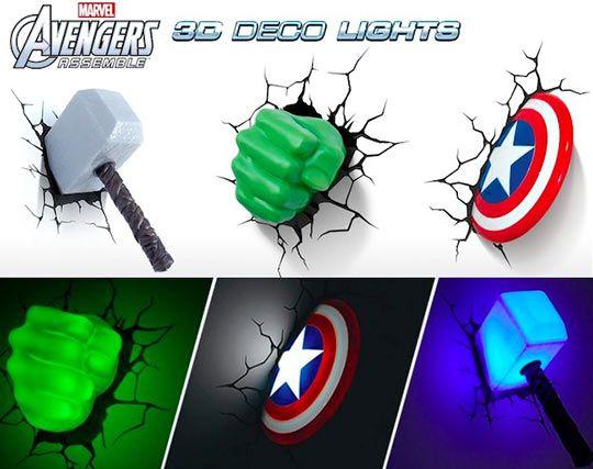 avengers mavel funny | Avengers Wall Lights... - The Meta Picture