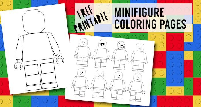 Free Printable Lego Coloring Pages Paper Trail Design Lego Coloring Pages Lego Birthday Lego Coloring
