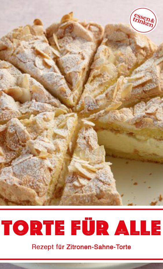 Rezept für Zitronen-Sahne-Torte – Food I'd like to try