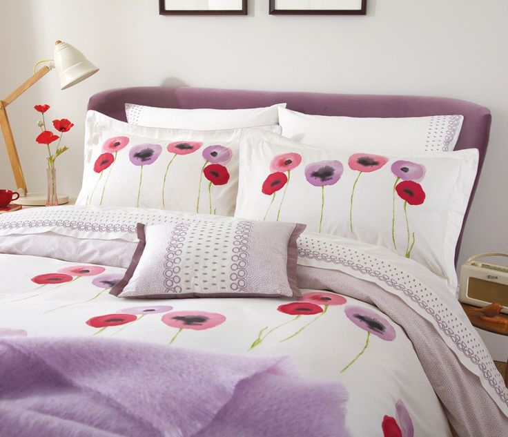 Elegant Bedding Poppies | Home U003e Poppies Flat Sheet (Double/King) Amazing Pictures