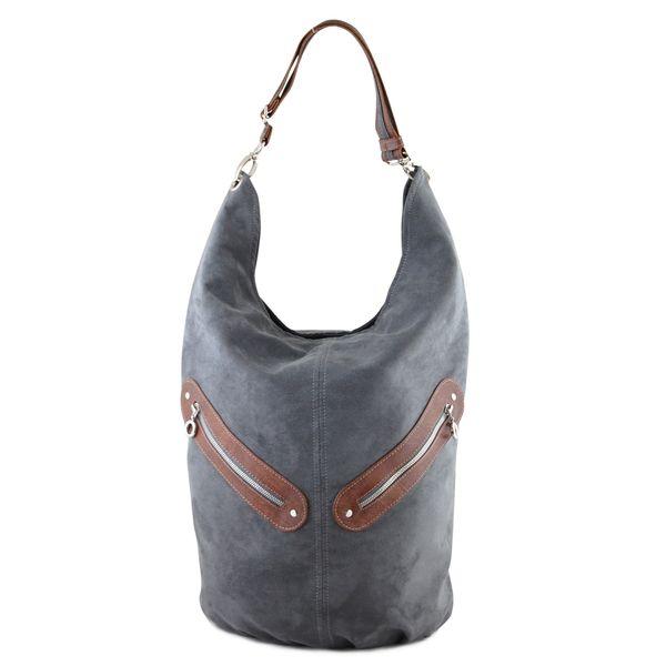 KOFI - duża torba - worek - szary  w INCAT  na DaWanda.com