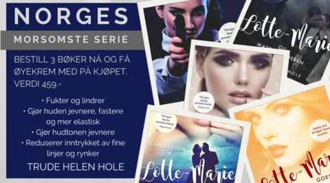 Trude Helén Hole - Norges morsomste forfatter – FEATHER BOOK SHOP