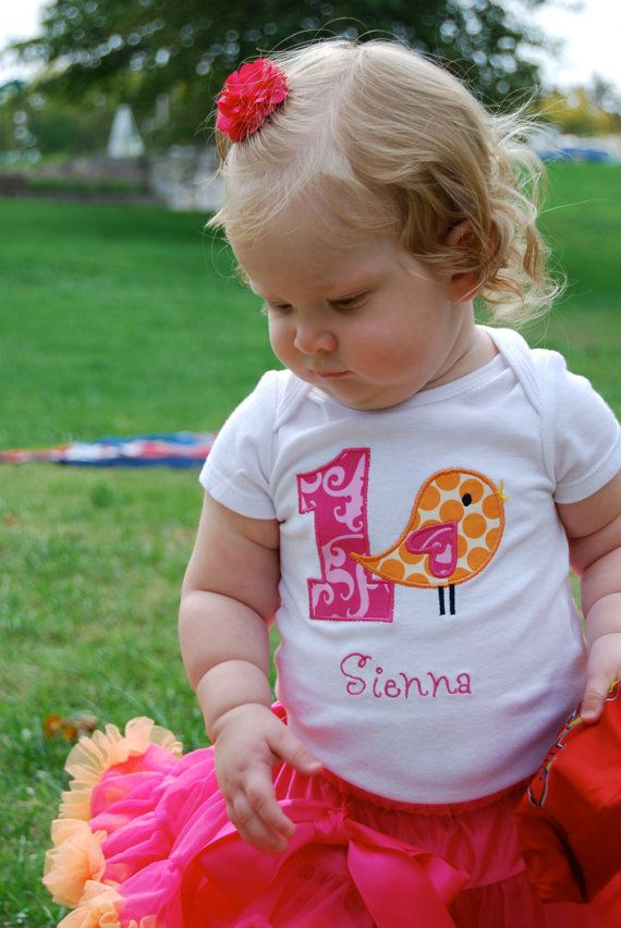 First Birthday Shirt  First Birthday Outfit by sweettulipsboutique, $22.50