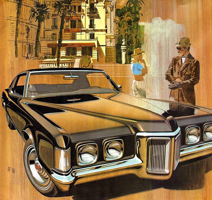 1970 Pontiac Grand Prix - 'Casino Royale': Art Fitzpatrick and Van Kaufman