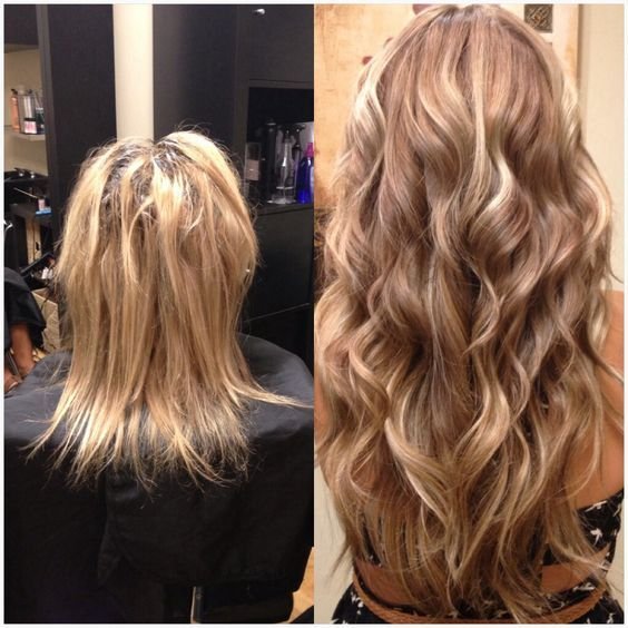 26 Best Beforeafter Hair Extensions Images On Pinterest Hair