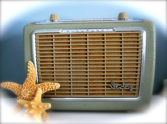 1960s German Made Blaupunkt Derby Transistor Radio by TheRealDelia, $225.00