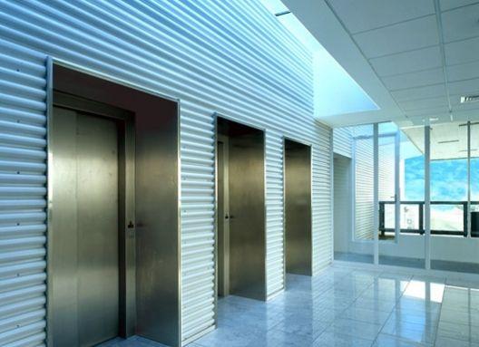 Edificio Corporativo Consorcio Nacional de Seguros-Concepción    Producto: Revestimientos Interiores de Muro   Miniwave  Programa: Edificio