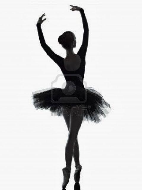 Siluetas de Ballerinas y Bailarinas.