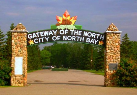 The gateway to Northern Ontario,  North Bay, ON