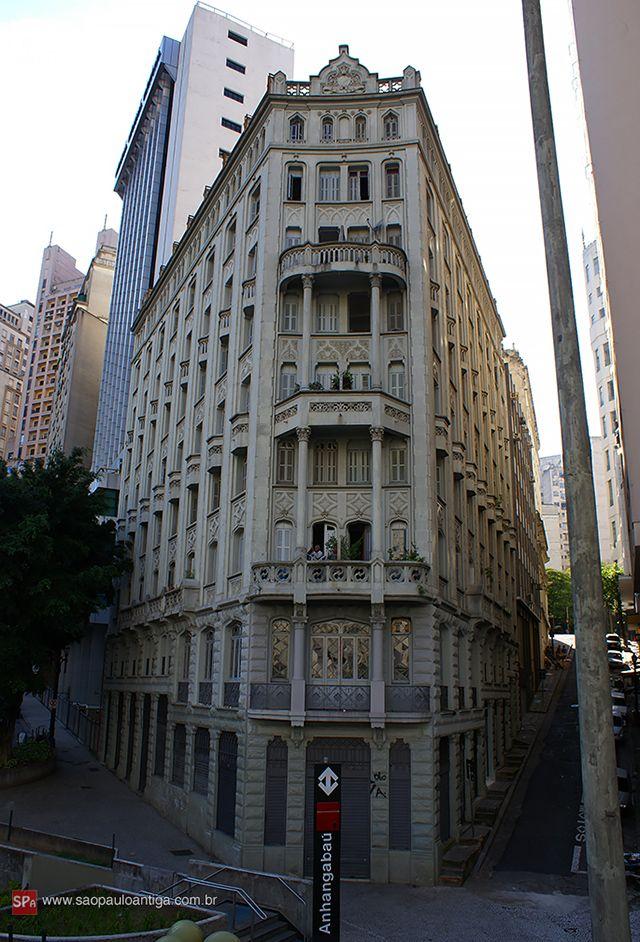 São Paulo Antiga — Palacete Riachuelo