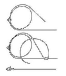 Hook Knots - methods and styles of tying fishing hooks