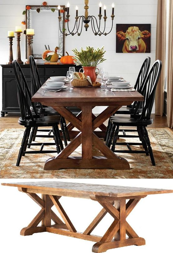 25 Best Ideas About Distressed Dining Tables On Pinterest