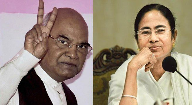 Kolkata: The West Bengal Chief Minister Mamata Banejree on Thursday congratulated the newly elected president of India, Ram Nath Kovind.  Congratulations to Ram Nath Kovind Ji, who will be our next President — Mamata Banerjee (@MamataOfficial) July 20, 2017  Kovind elected as India's 14th...