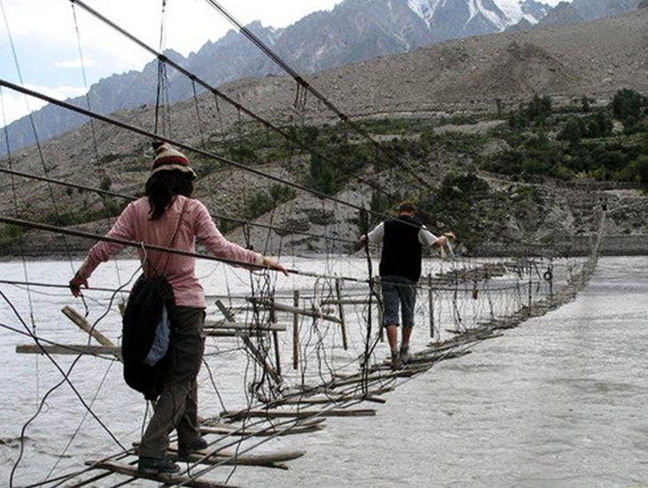 Hussaini  Borit Lake Pakistan