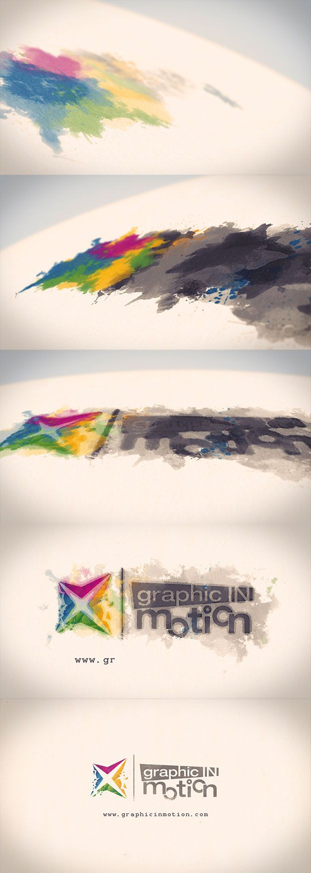 After Effects Project Files - Watercolor & Ink Logo Reveal | VideoHive