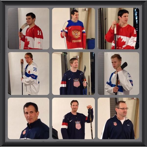 Pittsburgh Penguins' Olympians