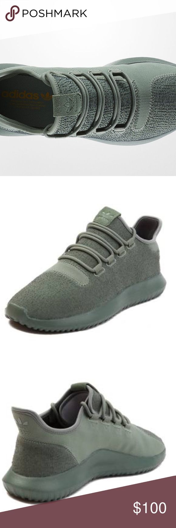 Adidas tubular Shadow Enjoy stylish simplicity in the Men's adidas Tubular Shadow Casual Shoes. Super light and breathable knit upper Rope laces Low-cut design for enhanced mobility Tubular midsole for plush cushioning The adidas Tubular Shadow is Imported The Men's adidas Tubular Shadow Casual Shoes push the boundary on style like never before. Dress the Shadow up with a pair of khakis and a button up or dress it down with your favorite joggers and a long hem tee, either way you can't go…