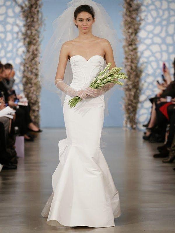 219 best oscar de la renta images on pinterest short for Nearly new wedding dresses
