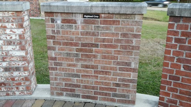 Highland Gray Brick For My House D Arbonne House