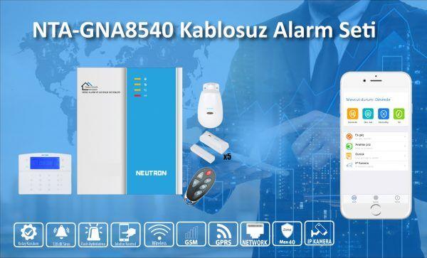 Neutron NTA GNA8540 Hırsız Alarm Seti