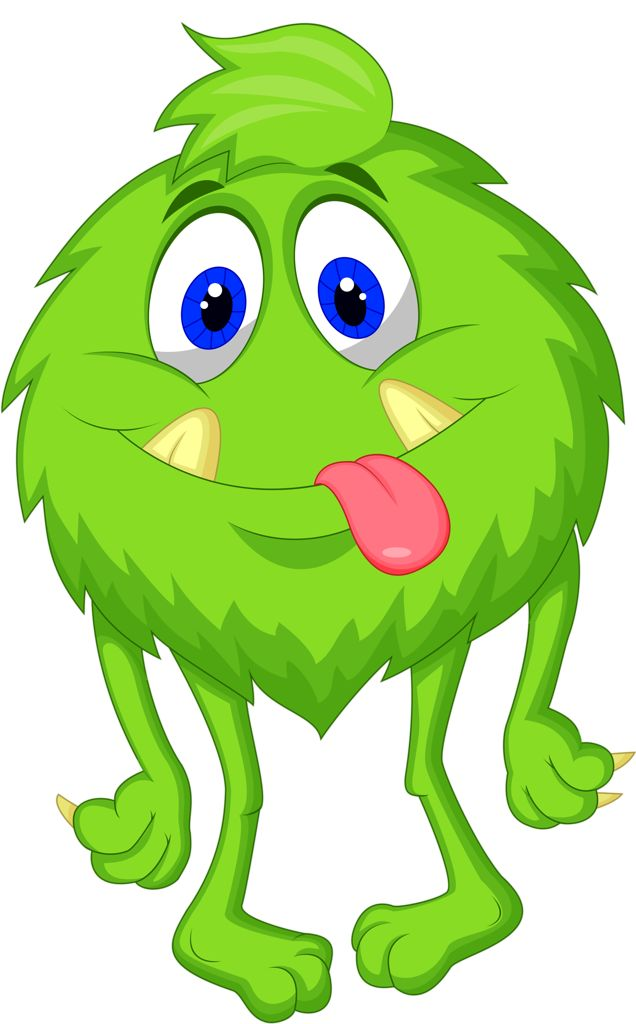 Cartoon Characters Monsters : Best monsters clipart images on pinterest cartoon